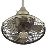 Fanimation Extraordinaire™ 18-Inch x 21-Inch Orbital Ceiling Fan in Nickel