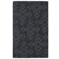 Kaleen Imprints Classic 2-Foot x 3-Foot Rug in Charcoal