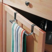 InterDesign® Forma® Over the Cabinet Towel Bar in Stainless Steel