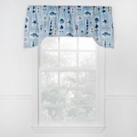 Beachcomber Arch Valance in Blue