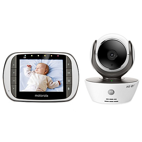 motorola mbp853connect digital video baby monitor with wi fi internet viewing bed bath beyond. Black Bedroom Furniture Sets. Home Design Ideas