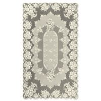 Heritage Lace® Victorian Rose 60-Inch x 108-Inch Tablecloth in Ecru