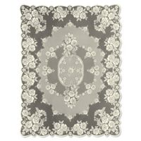 Heritage Lace® Victorian Rose 60-Inch x 84-Inch Tablecloth in Ecru