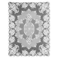 Heritage Lace® Victorian Rose 60-Inch x 84-Inch Tablecloth in White