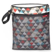 SKIP*HOP® Triangles Grab & Go Wet/Dry Bag in Multicolor