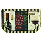 Bacova Chateau Nouveau 18-Inch x 30-Inch Memory Foam Slice Kitchen Rug in Burgundy