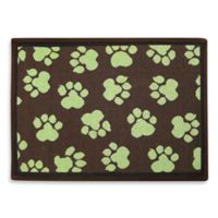 P.B. Paws by Park B. Smith World Paws 19-Inch x 13-Inch Tapestry Pet Mat in Woodland / Green