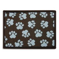 P.B. Paws by Park B. Smith World Paws 19-Inch x 13-Inch Tapestry Pet Mat in Woodland / Seaspray