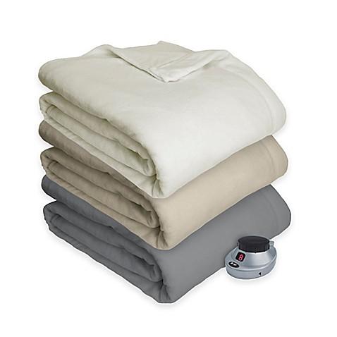 Therapedic 174 Ultimate Comfort Plush Heated Blanket Bed
