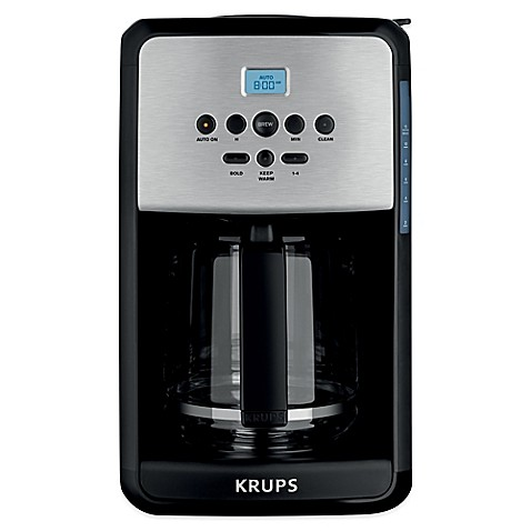 Krups® 12 Cup Savoy Programmable Coffee Maker
