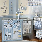 Lambs & Ivy® My Little Snoopy™ 4-Piece Crib Bedding Set
