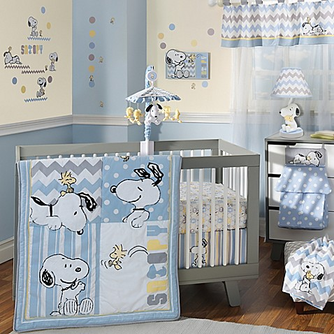 Lambs Amp Ivy 174 My Little Snoopy Crib Bedding Collection