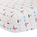 Lambs & Ivy® Splish Splash Fitted Crib Sheet