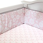 Lambs & Ivy® Swan Lake 4-Piece Crib Bumper Set