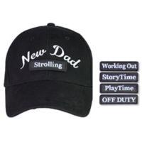 "countdowncaps™ ""New Dad"" 5-in-1 Baseball Cap in Blue/Black"