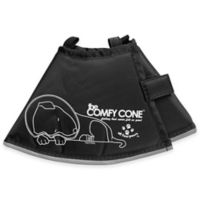 All Four Paws™ Small The Comfy Cone in Black