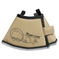 All Four Paws™ Small The Comfy Cone in Tan