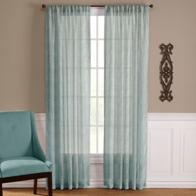 Very best Buy Blue Green Curtain Panel from Bed Bath & Beyond XD11