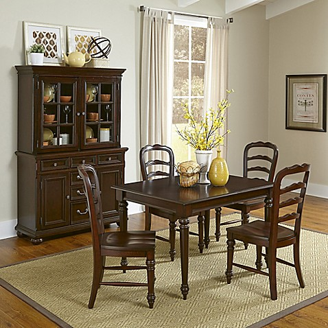 Home Styles 7 Piece Colonial Classic Dining Set In Cherry