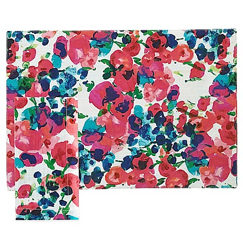 Kate Spade New York Rosa Terrace Placemat And Napkin Bed