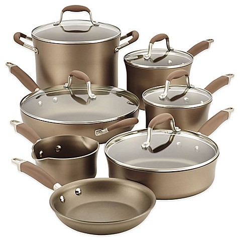 Anolon 174 Advanced Umber Nonstick Hard Anodized 12 Piece