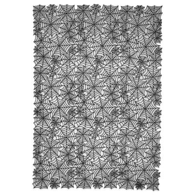 Heritage Lace® Spider Web 60 Inch X 90 Inch Tablecloth In Black