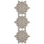 Heritage Lace® Silver Snowflake 15-Inch x 39-Inch Table Runner in Silver