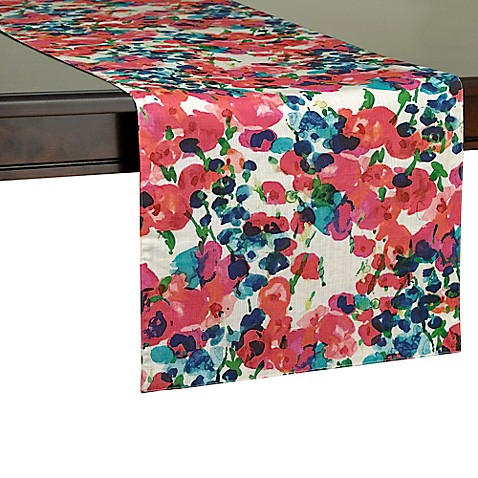 Kate spade new york rosa terrace table runner bed bath for Bed bath and beyond kate spade
