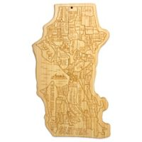 Totally Bamboo Seattle Cutting/Serving Board