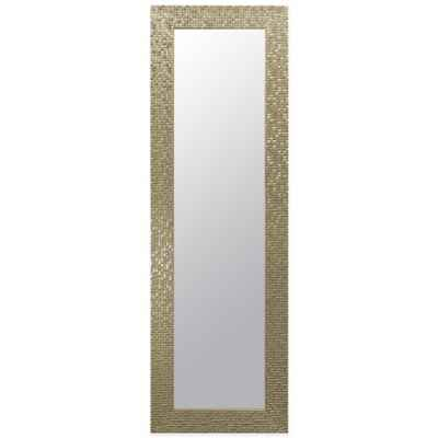 Door Solutions™ Rectangular 17.5-Inch x 53.5-Inch Over-the-Door Mirror in Champagne
