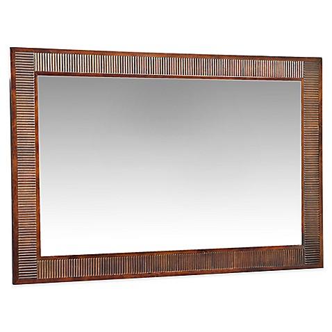 Angelo Home Marlowe 36 Inch X 54 Rectangular Wood Wall Mirror In
