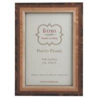 Eccolo™ 4-Inch x 6-Inch Marquetry Studio Picture Frame in Tan