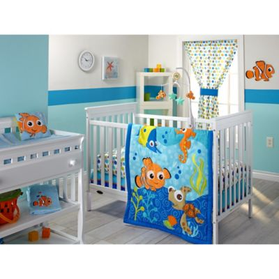 Disney  Nemo Crib Bedding Collection   Disney  Nemo 3 Piece Crib Bedding Set. Disney  Baby Crib Bedding Sets from Buy Buy Baby