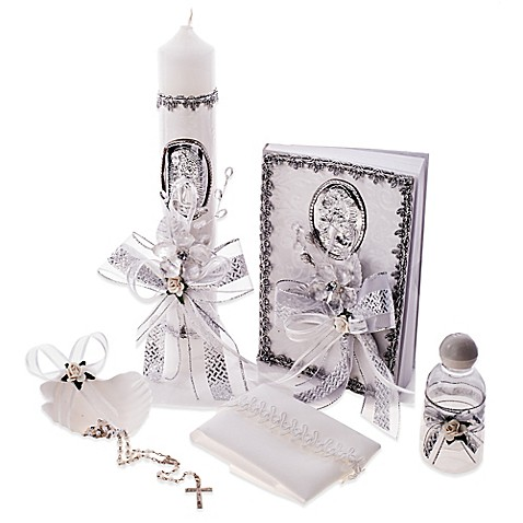 6 Piece Our Lady Of Guadalupe Spanish Baptism Christening