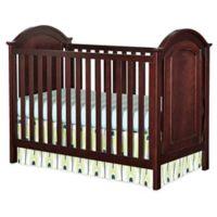 Westwood Designs Harper Cottage Convertible Crib in Chocolate