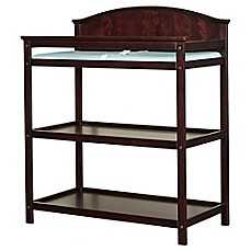 Westwood Design Harper Pine 3 Shelf Changing Table In Chocolate