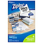 Ziploc® Space Bag® 4-Piece Flat Combo Set