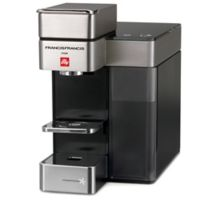 illy® Y5 Duo Espresso and Coffee Machine in Satin