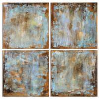 Uttermost Accent Tiles Modern Art (Set of 4)