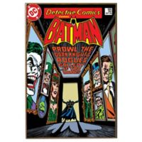 """Batman """"Prowl the Dark Knight's Rogue Gallery"""" DC Comic Book Cover Wall Décor Plaque"""