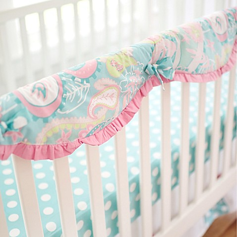 Pixie Baby in Pink Baby Crib Bedding