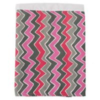 Glenna Jean Addison Zig Zag Stripe Queen Bed Skirt