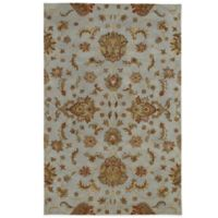 Kaleen Mystic-Europa 3-Foot 6-Inch x 5-Foot 3-Inch Rug in Pewter