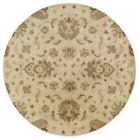 Kaleen Mystic-Europa 9-Foot 9-Inch Round Rug in Ivory