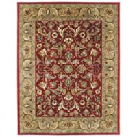 Kaleen Mystic-William 3-Foot 6-Inch x 5-Foot 3-Inch Rug in Red