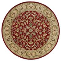 Kaleen Mystic-William 5-Foot 9-Inch Round Rug in Red