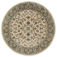 Kaleen Mystic-William 7-Foot 9-Inch Round Rug in Ivory