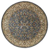 Kaleen Mystic-William 7-Foot 9-Inch Round Rug in Blue
