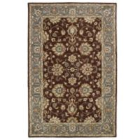 Kaleen Mystic-Agean 3-Foot 6-Inch x 5-Foot 3-Inch Rug in Brown