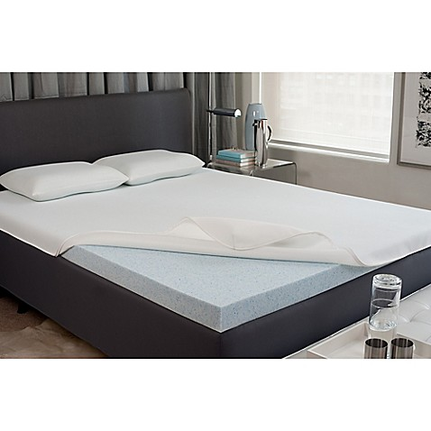 viscofreshr 2 inch gel memory foam mattress topper bed With bed bath and beyond gel memory foam mattress topper